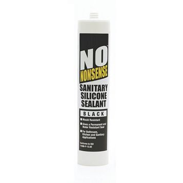 No Nonsense Sanitary Black Sealant