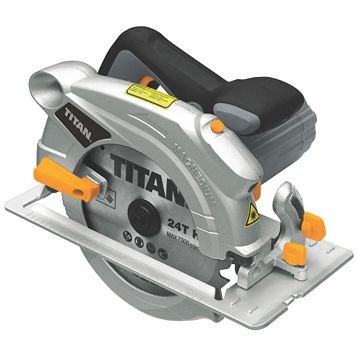 Titan 1500W 230V 190mm Circular Saw TTB286CSW