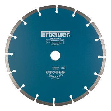 Erbauer (Dia)230mm Segmented Diamond Blade