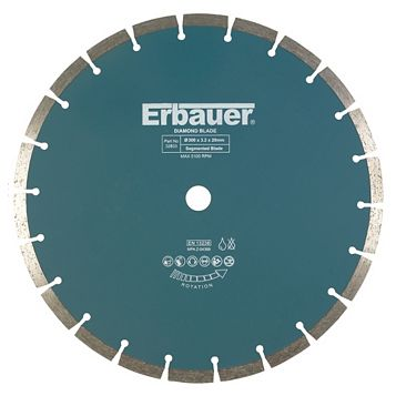 Erbauer (Dia)300mm Segmented Diamond Blade