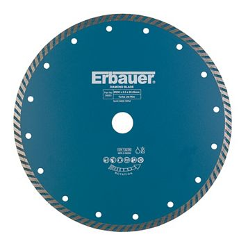 Erbauer (Dia)230mm Continuous Segments Turbo Blade