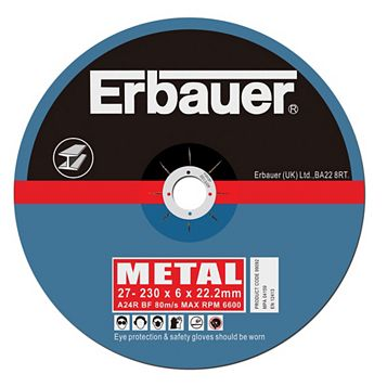 Erbauer (Dia)230mm Continuous Grinding Discs, Pack of 5