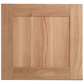Cooke & Lewis Chesterton Solid Oak Oven Housing Door (W)600mm