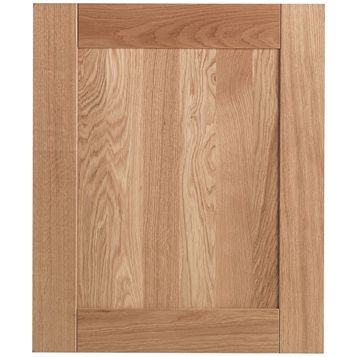 Cooke & Lewis Chesterton Solid Oak Integrated Appliance Door (W)600mm