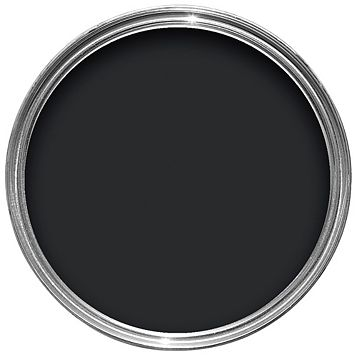 Colours Black Textured Masonry Paint 2.5L