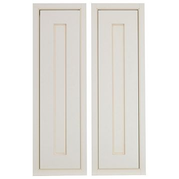 Cooke & Lewis Woburn Framed Larder Door (W)300mm, Set of 2