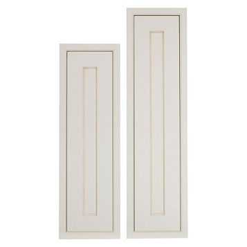Cooke & Lewis Woburn Framed Tall Larder Door (W)300mm, Set of 2