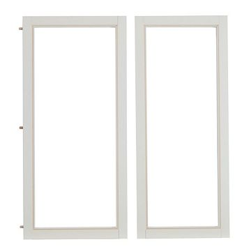 Cooke & Lewis High Gloss Ivory Country Door Frame, 335 x 22.5 x 720mm