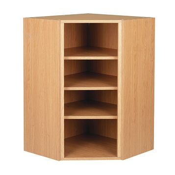 Cooke & Lewis Oak Effect Tall Wall Unit Carcass (W)625mm