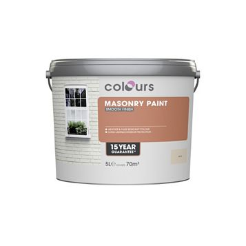 Colours Sand Matt Masonry Paint 5000ml