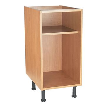 Cooke & Lewis Oak Effect Standard Base Cabinet Unit Carcass (W)450mm