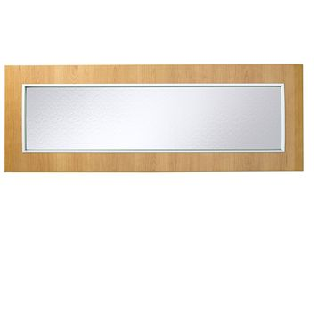 IT Kitchens Cherry Style Modern Glazed Bridging Door & Pan Drawer Front (W)1000mm