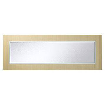 IT Kitchens Maple Style Modern Glazed Bridging Door & Pan Drawer Front (W)1000mm