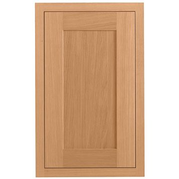 Cooke & Lewis Carisbrooke Oak Framed Standard Door (W)450mm