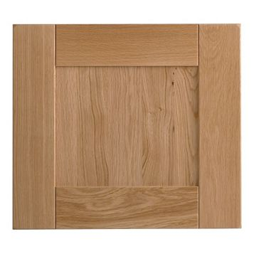 Cooke & Lewis Chesterton Solid Oak Deep Bridging Door (W)500mm