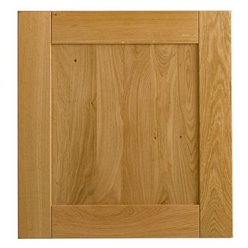 Cooke & Lewis Solid Oak Classic Tall Oven Housing Door (W)600mm