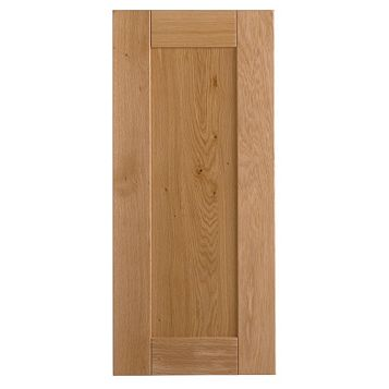 Cooke & Lewis Chesterton Solid Oak Tall Standard Door (W)400mm