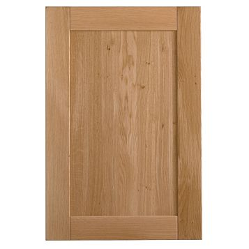 Cooke & Lewis Chesterton Solid Oak Tall Standard Door (W)600mm