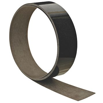 B&Q Midnight Granite Satin Black Granite Effect Worktop Edging Tape (L)3000mm