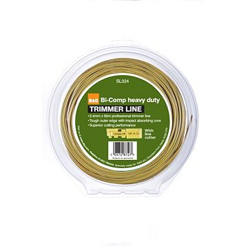 Heavy Duty Trimmer Line to Fit Petrol Trimmers (T)2.4mm