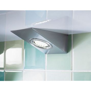 IT Kitchens Stainless Steel Effect Cabinet Light, Pack of 3