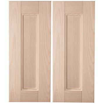 Cooke & Lewis Solid Ash Tall Corner Door (W)625mm, Set of 2