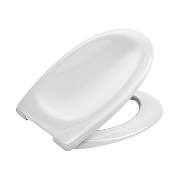 Cooke & Lewis Perdita White Soft Close Toilet Seat