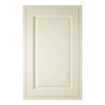 IT Kitchens Holywell Cream Style Classic Framed Fixed Frame Larder Door (W)600mm