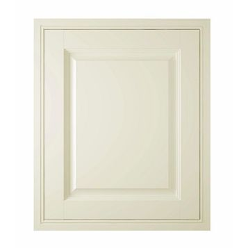 IT Kitchens Holywell Cream Style Classic Framed Fixed Frame Integrated Appliance Door (W)600mm