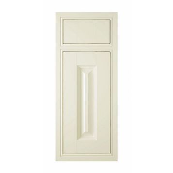 IT Kitchens Holywell Cream Style Classic Framed Drawerline Door & Drawer Front (W)300mm, Set of 1 Door & 1 Drawer Pack