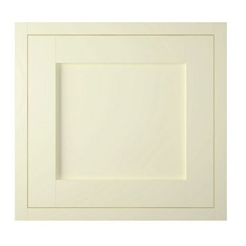 IT Kitchens Holywell Ivory Style Framed Fixed Frame Semi-Integrated Appliance Door (W)600mm