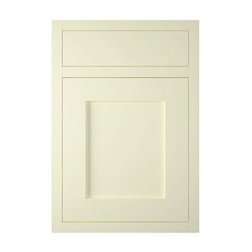 IT Kitchens Holywell Ivory Style Framed Drawerline Door & Drawer Front (W)500mm, Set of 1 Door & 1 Drawer Pack