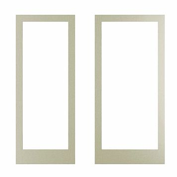 Cooke & Lewis Open Grain Effect Taupe Authentic Door Frame, 335 x 44 x 760mm