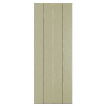 Cooke & Lewis Carisbrooke Taupe Clad On Tall Wall Panel, 359 x 937mm