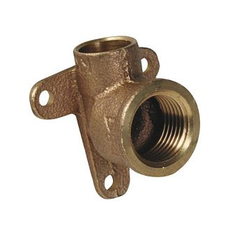 Compression Wall Plate Elbow (Dia)15 mm