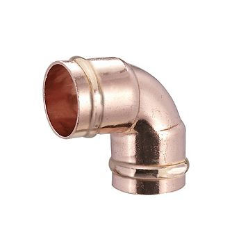 Solder Ring Elbow (Dia)15mm, Pack of 2