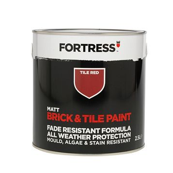 Fortress Brick & Tile Paint Tile, 2.5L
