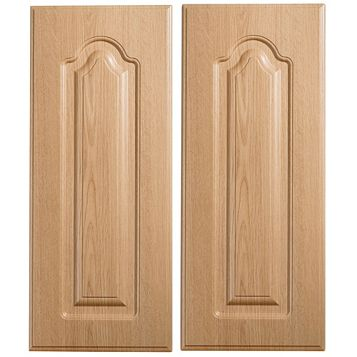 IT Kitchens Chilton Traditional Oak Effect Corner Wall Door (W)625mm, Set of 2