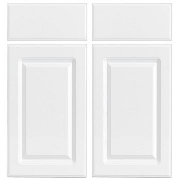 IT Kitchens Chilton Gloss White Style Corner Base Drawer Line Door (W)925mm, Set of 2