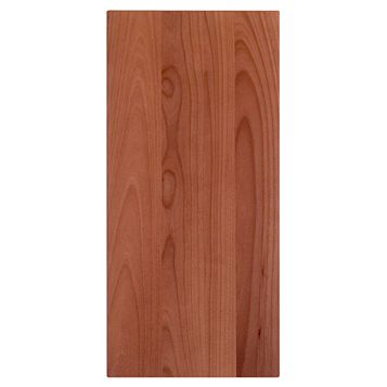 IT Kitchens Walnut Style Modern Wall Panel, 359 x 757mm