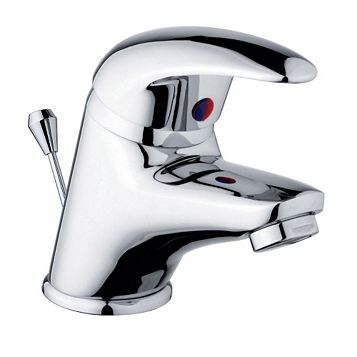 Cooke & Lewis Wave 1 Lever Mini Basin Mixer Tap