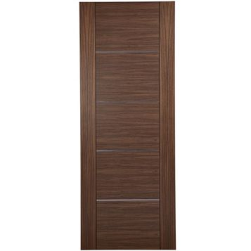 Flush Oak Veneer Internal Door, (H)1981mm (W)686mm