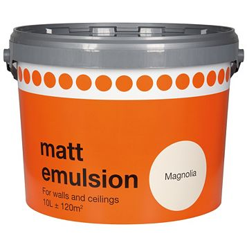 Magnolia Matt Emulsion Paint 10L