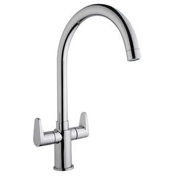 Cooke & Lewis Tone Chrome Effect Monobloc Tap