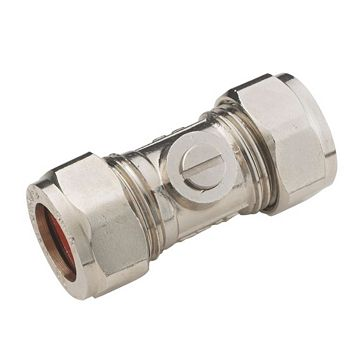 Compression Isolating Valve (Dia)15mm, Pack of 10