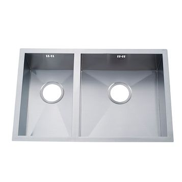 Cooke & Lewis Nitoite 1.5 Bowl Stainless Steel Sink