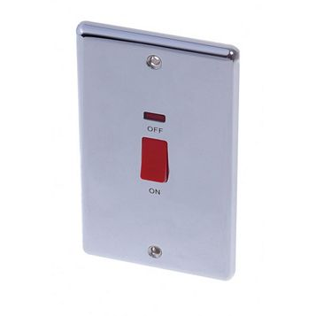 Lap 2-Gang 45A Cooker Switch