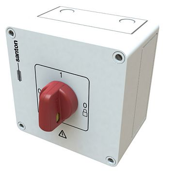 16A 600V Dc Isolator Switch -