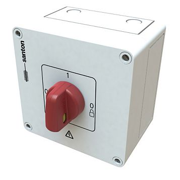 25A 1000V Dc Isolator Switch -