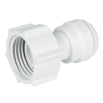 JG Speedfit Push Fit Female Tap Connector (Dia)10 mm, Pack of 2